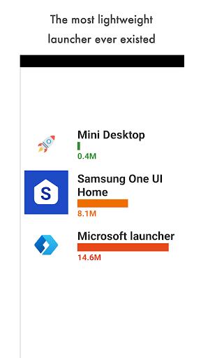 Mini Desktop (Launcher) apktram screenshots 2