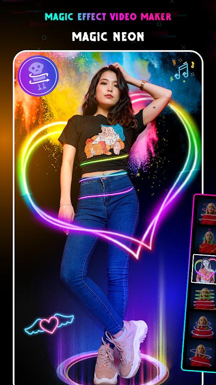 Magic Video Editor : Magic Video Effects poster 1