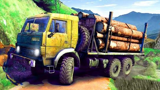 Offroad Logging Cargo Truck Semi Trailer : Uphill 1.0 Unlocked APK Mod Free 2