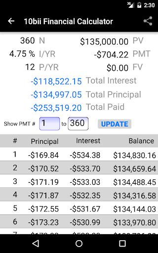 10bii Financial Calculator  screenshots 11