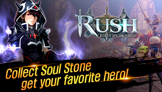 Hack Game RUSH : Rise up special heroes apk free