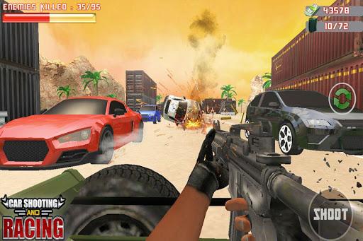 Car Racing Sniper Vs Thieves - Shooting Race games  screenshots 2