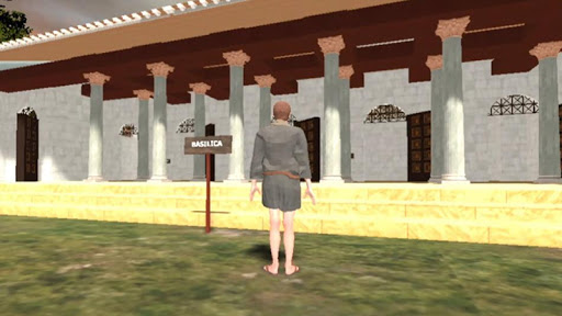 3d restoration - apulum castrum principia basilica screenshot 1