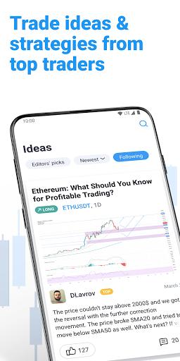 Foto do TradingView - Stock charts, Forex & Bitcoin price