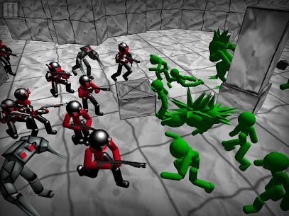 Battle Simulator: Stickman Zombie 9