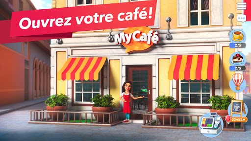 Code Triche My Café — jeu de restaurant (Astuce) APK MOD screenshots 1