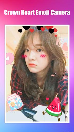 Crown Heart Emoji Camera 1.3.2 Screenshots 6