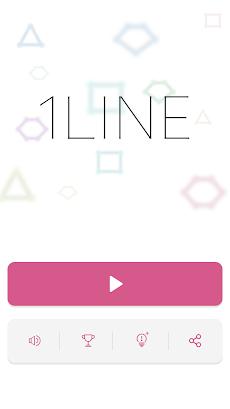 頭が良くなる 一筆書き パズルゲーム 1LINEのおすすめ画像3