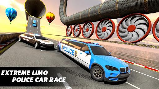 Police Limo Car Stunt Games : New Car Games 2020 screenshots 3