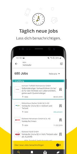 Jobbu00f6rse - Jobs finden auf meinestadt.de android2mod screenshots 4