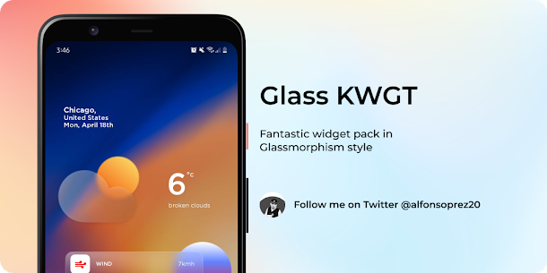 Glass for KWGT v1.0 [Paid] 3