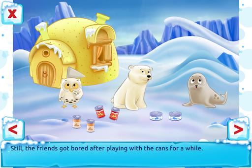 Polar Bear Cub - Fairy Tale with Games Free  screenshots 2