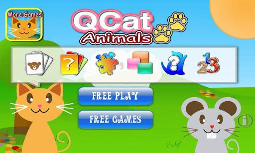 QCat  Animal 8 in 1 Games (Free) 2.5.5 screenshots 1