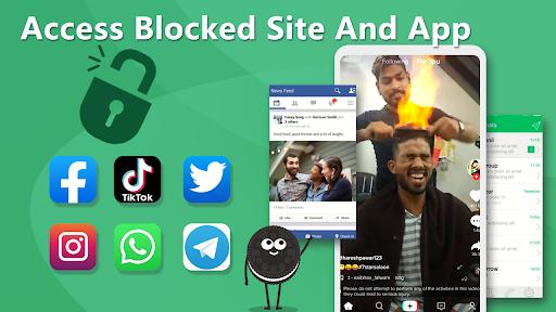 Oreo VPN - Unblock, Free, Unlimited, Safe, Fast apktram screenshots 5