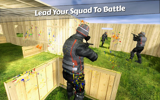 PaintBall Shooting Arena3D : Army StrikeTraining  screenshots 7