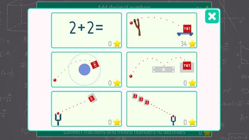 decimals - fifth grade math skills screenshot 2