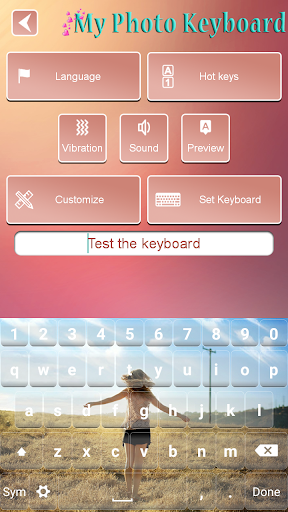 My Photo Keyboard Changer Free 1.13 Screenshots 8