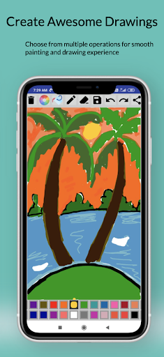 Paint Free - Drawing Fun modavailable screenshots 5