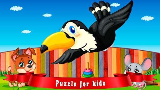 Logic games: jigsaw for kids  screenshots 1