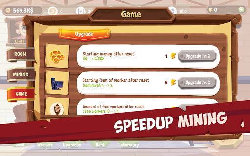 Bitcoin Mining Simulator - Idle Clicker Tycoon 3.5.8 screenshots 22