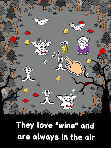 Vampire Evolution - Make Spooky Mutant Monsters screenshots 10