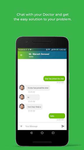 DocOnline - Online Doctor Consultation App modavailable screenshots 6