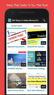 365 Ways to Make Money Online 💸 PASSIVE INCOME 💸 3.3 Android Mod + APK + Data 3