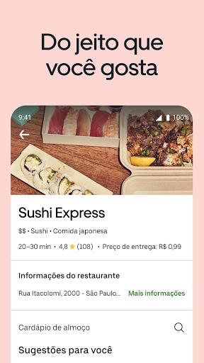 Uber Eats: entrega de comida screenshot