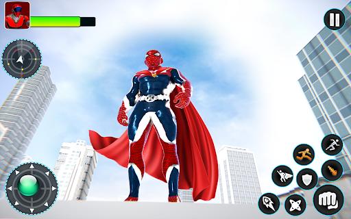 Flying Robot Hero - Crime City Rescue Robot Games 1.7.7 Screenshots 18