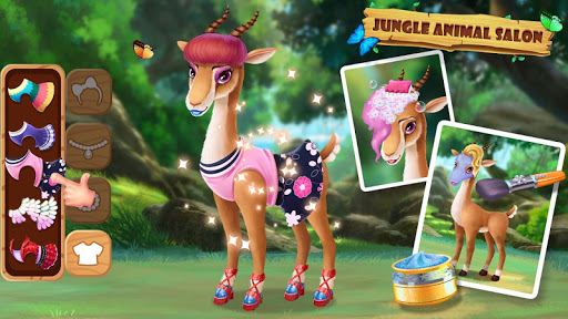 ud83eudd81ud83dudc3cJungle Animal Makeup 3.0.5017 screenshots 11