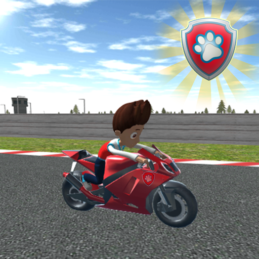 Paw Ryder Moto Patrol Race 3D