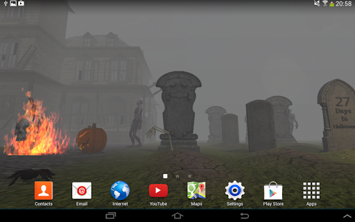 3D Halloween Live Wallpaper For PC Windows (7, 8, 10, 10X) & Mac Computer Image Number- 17