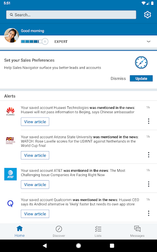 LinkedIn Sales Navigator screenshots 9