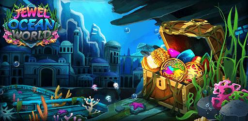 Jewel ocean world: Match-3 puzzle Apkfinish screenshots 19