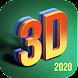 3D Parallax Wallpaper HD- Cool Live Background