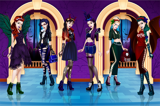 Gothic Dress Up 1.2.3 screenshots 1