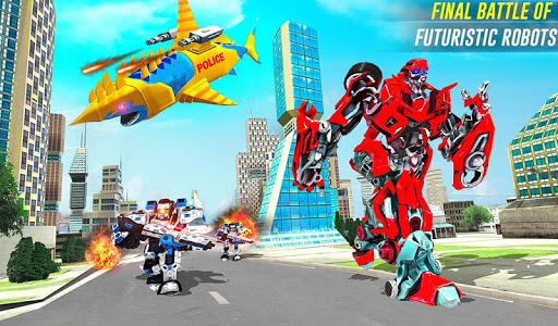 Robot Shark Attack: Transform Robot Shark Games 24 screenshots 10