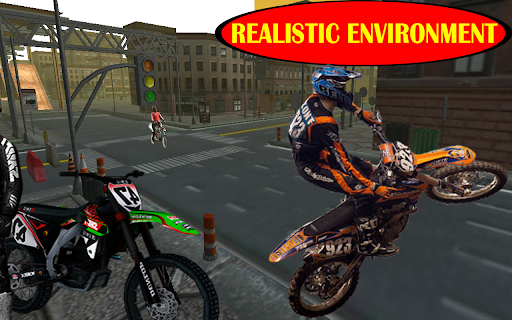 Motorcycle racing Stunt : Bike Stunt free game 2.1 screenshots 3