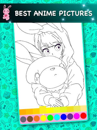 Kawaii - Anime Animated Coloring Book  screenshots 11