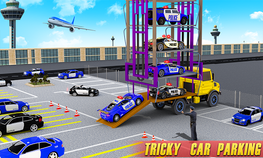 Police Multi Level Car Parking Games: Cop Car Game 2.0.6 screenshots 2