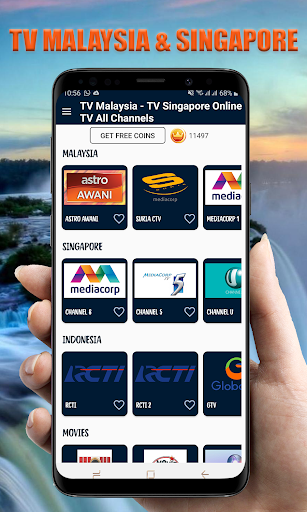 TV Indonesia Online - TV Malaysia TV Singapore 26.0 Screenshots 1