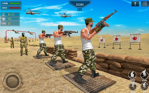 US Army Training School Game: Obstacle Course Race 4.0.0 screenshots 10