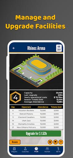 Ultimate Basketball General Manager - Sport Sim 1.2.1 screenshots 14