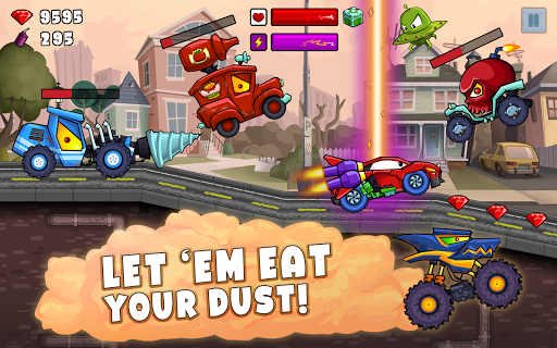 Car Eats Car 2 - Racing Game apktram screenshots 8
