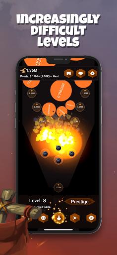 Tower Ball - Incremental Tower Defense  screenshots 4