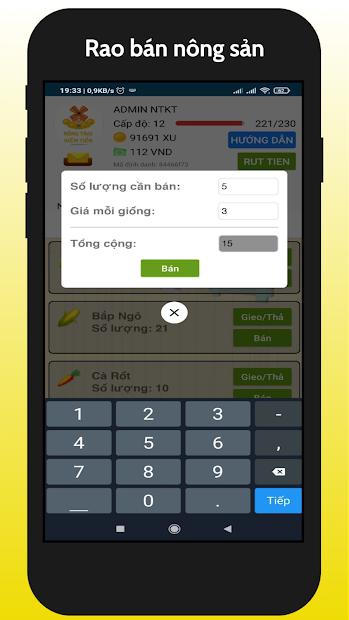 Nong Trai Kiem Tien - NTKT 2021 screenshot 4