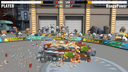 Tank Crash : combats de robots APK MOD (Astuce) screenshots 2