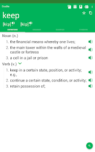 Dictionary : Word Definitions & Examples - Erudite Screenshot