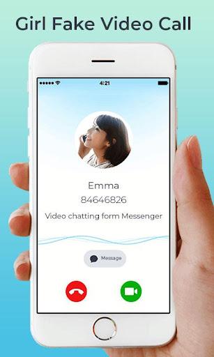 fake video call : prank on girlfriend screenshot 3