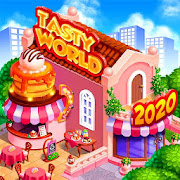 TASTY WORLD: Kitchen tycoon – Burger Cooking game MOD APK 1.4.16 (Free Shopping)